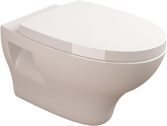 Унитаз подвесной Sanitana Pop + Гигиенический душ