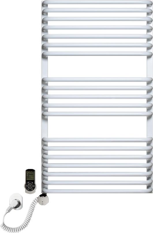 Полотенцесушитель электрический Luxrad Salto Max 063534 92х53 L, белый, терморегулятор selmo smart programm с
