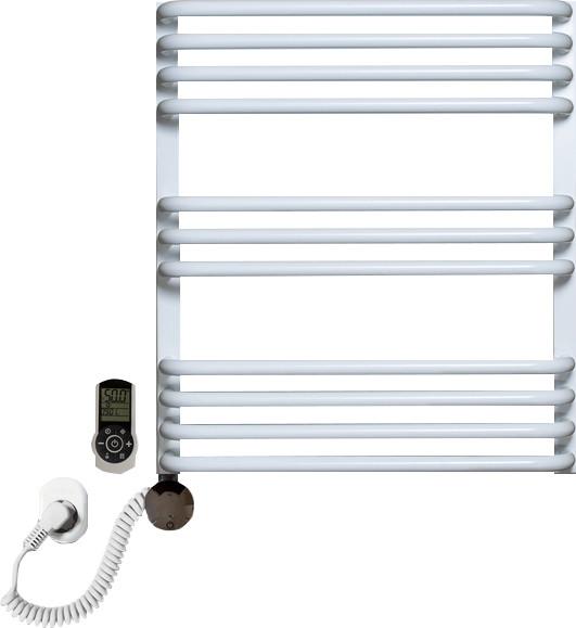 Полотенцесушитель электрический Luxrad Salto Max 063488 60х53 L, белый, терморегулятор selmo smart programm с