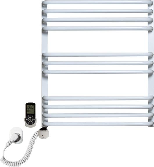 Полотенцесушитель электрический Luxrad Salto Max 063486 60х53 L, белый, терморегулятор selmo smart programm с