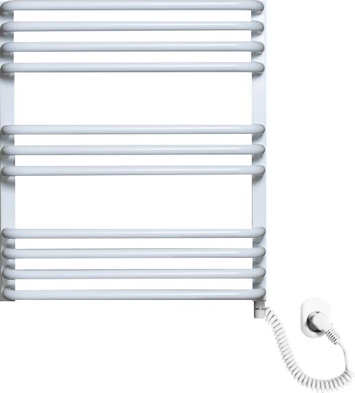 Полотенцесушитель электрический Luxrad Salto Max 063479 60х53 R, белый, терморегулятор selmo pad