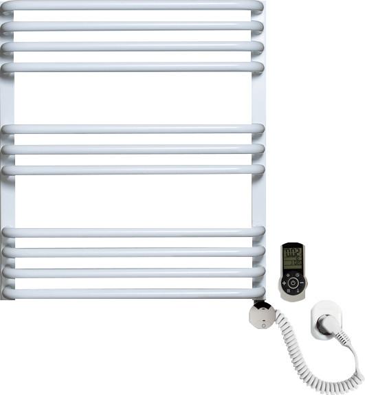 Полотенцесушитель электрический Luxrad Salto Max 063485 60х53 R, белый, терморегулятор selmo smart programm с