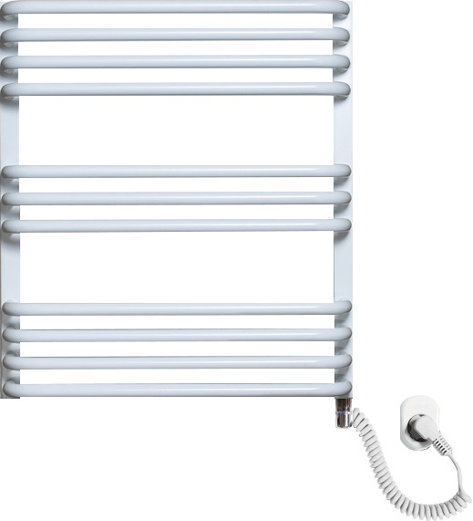 Полотенцесушитель электрический Luxrad Salto Max 063481 60х53 R, белый, терморегулятор selmo pad