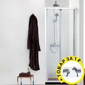 Душевая дверь в нишу Aquanet Alfa 210018 + коврик