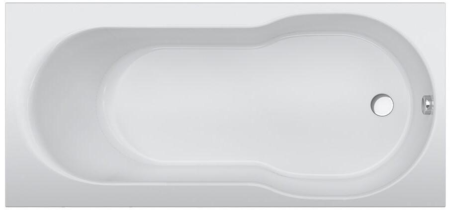 Акриловая ванна AM.PM X-Joy 150х70 с каркасом + шторка на ванну + сертификат IVI AM.PM