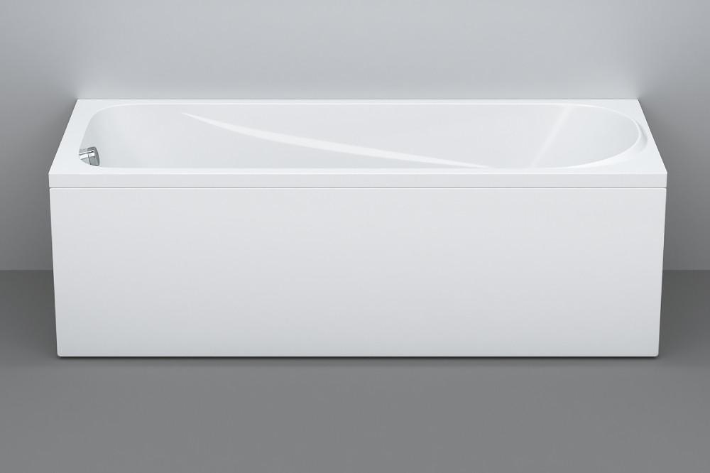 Акриловая ванна AM.PM Sense new W76A-170-070W-A с каркасом + шторка на ванну + сертификат IVI AM.PM