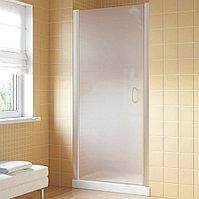 Душевая дверь в нишу Vegas Glass EP Lux 65 07 10 L профиль матовый хром, стекло сатин