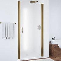 Душевая дверь в нишу Vegas Glass EP 65 05 10 профиль бронза, стекло сатин