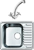 Комплект Мойка кухонная Iddis Strit STR58PLi77 + Смеситель Iddis Jeals 59000T4C+Z03 для кухонной мойки +