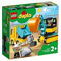 LEGO: Грузовик и гусеничный экскаватор DUPLO 10931