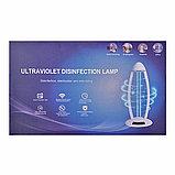 Кварцевая лампа, Бактерицидный облучатель - бытовой, переносной,  с пультом управления и вилкой, 38W, фото 2