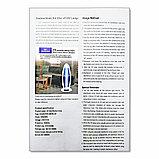 Кварцевая лампа, Бактерицидный облучатель - бытовой, переносной,  с пультом управления и вилкой, 38W, фото 3