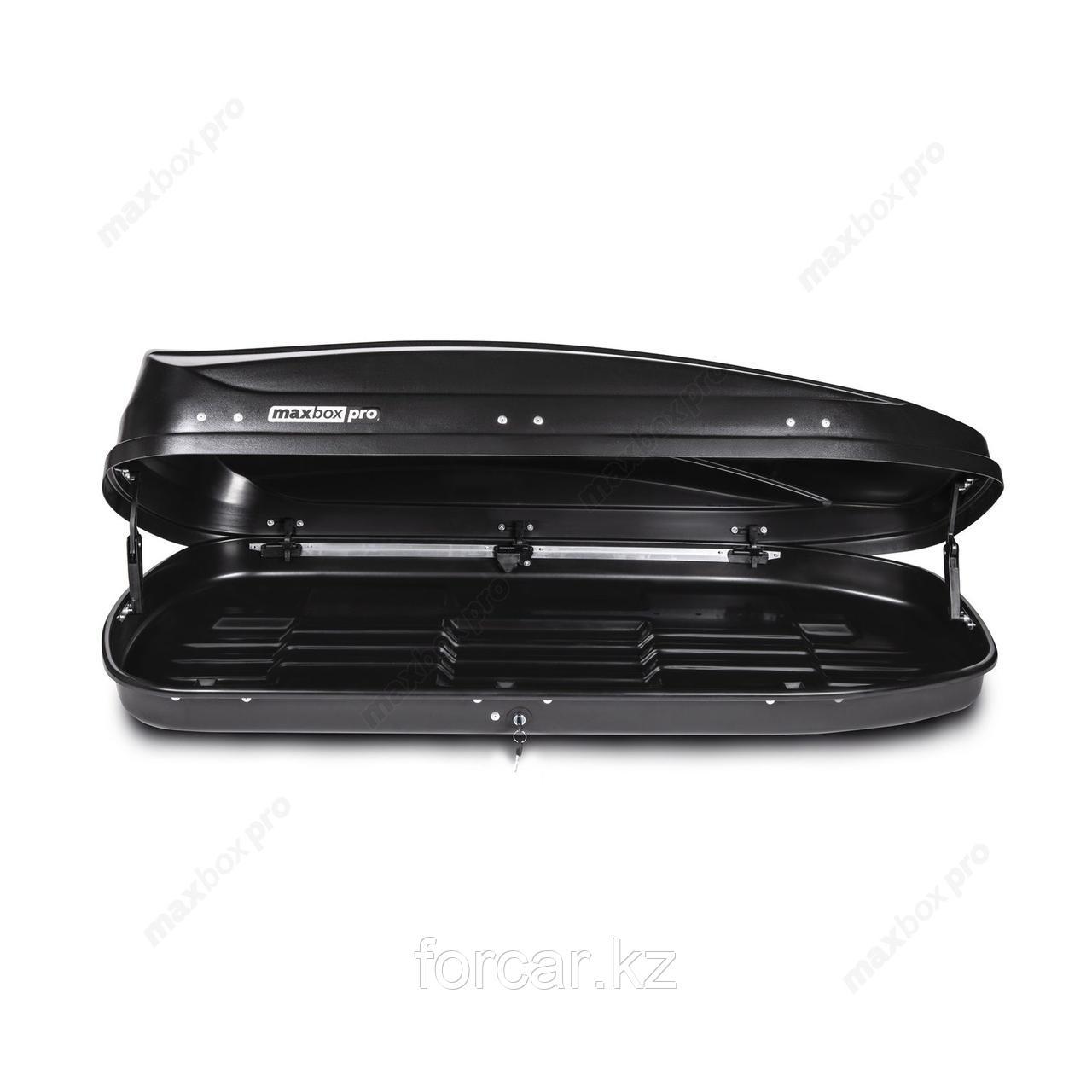 Автобокс MaxBox PRO 460 черный карбон 175*84*42 см. - фото 6
