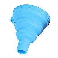 Сетчатый фильтр с силиконовой воронкой (Синяя)