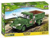 """Конструктор """"Военный грузовик MERCEDES-BENZ L3000S"""", 305 дет. (COBI, Польша)"""