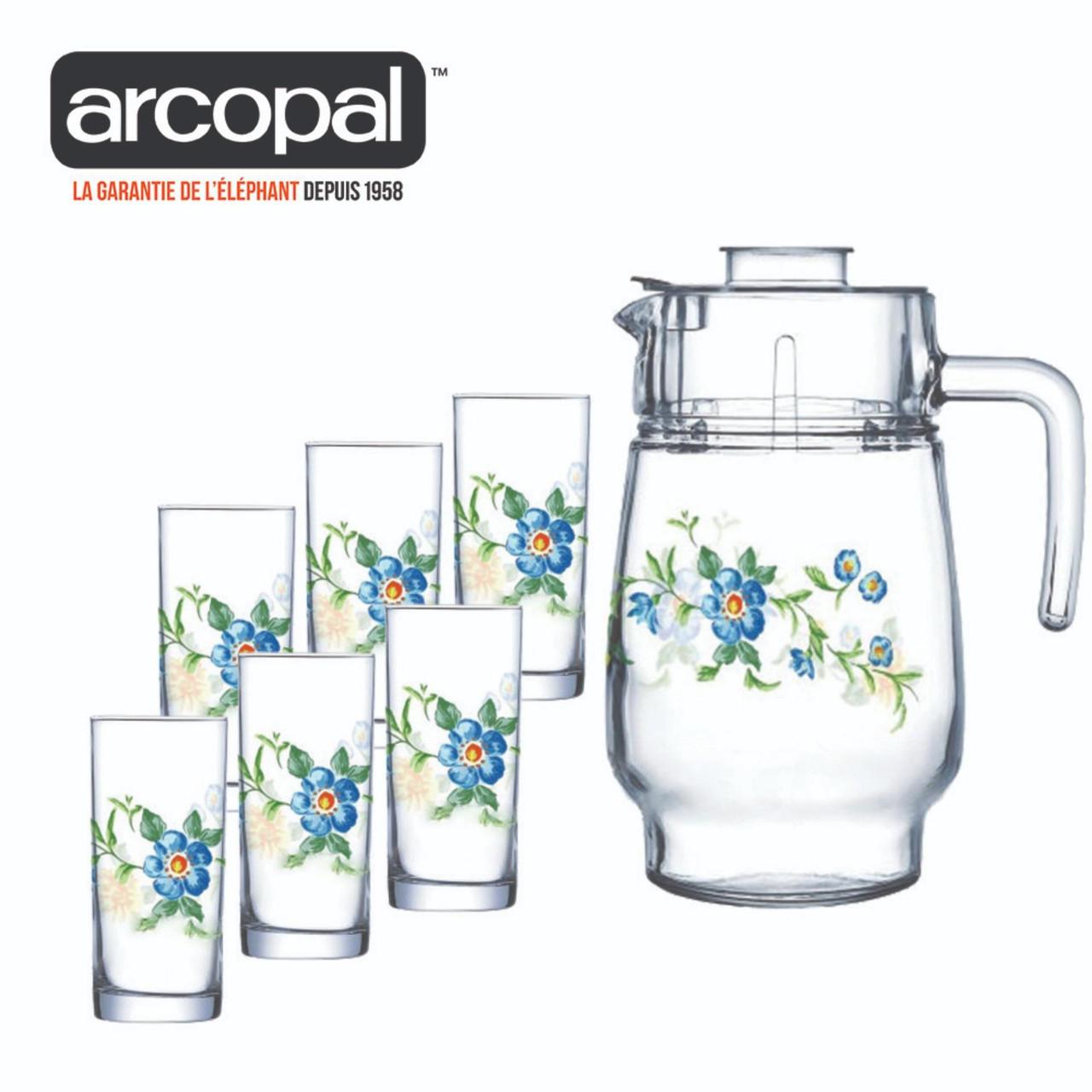 Графин со стаканами Arcopal Cybelle (7 предметов)