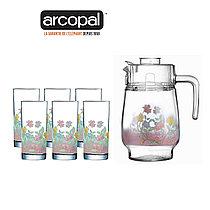 Графин со стаканами Arcopal Elise (7 предметов)