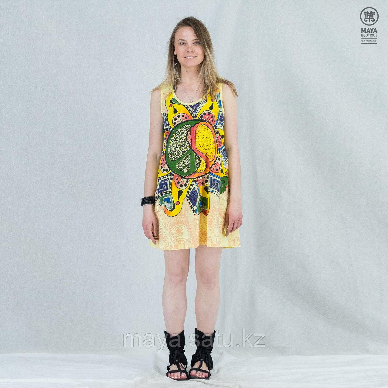 Платье-туника Mirror с принтом Пацифика - фото 1