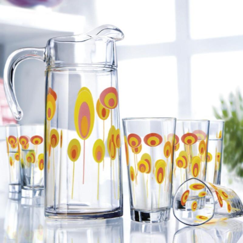 Графин со стаканами Luminarc Delta Wonderland (7 предметов)