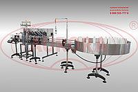 Завод АВРОРА Линейный перистальтический дозирующий комплекс с 6-ю соплами для моющих средств МДП-200Л