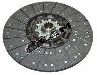 Ведущий диск сцепления (корзина)  без кольца ф430, DZ9114160026