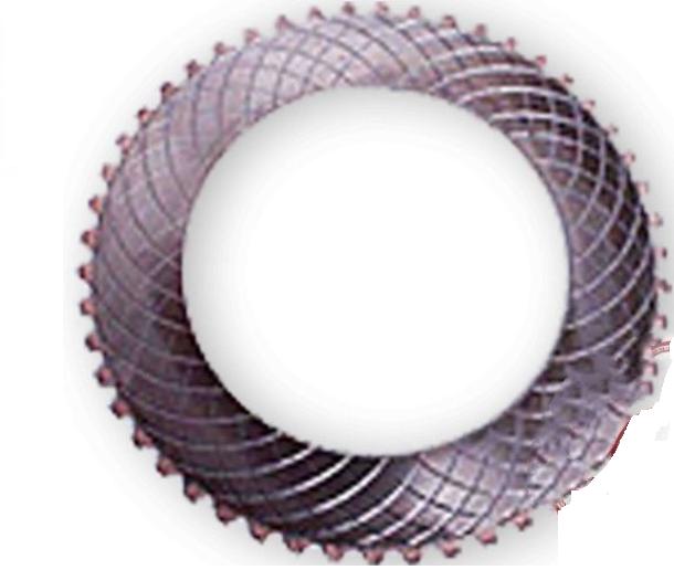 Фрикционная пластина 1-ой и задней скорости (стальная) ZL40,6-48 (1ком*8шт) на погрузчик ZL50G, LW500F