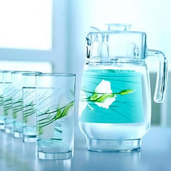 Графин со стаканами Luminarc Sofiane blue (7 предметов)