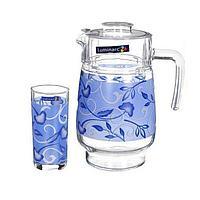 Графин со стаканами Luminarc Plenitude Blue (7 предметов), фото 1