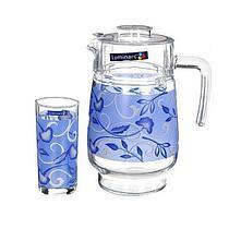 Графин со стаканами Luminarc Plenitude Blue (7 предметов)