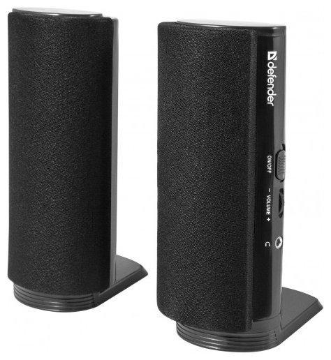 Компактная акустика 2.0 Defender SPK-210,4Вт, порт для наушнков, 220В