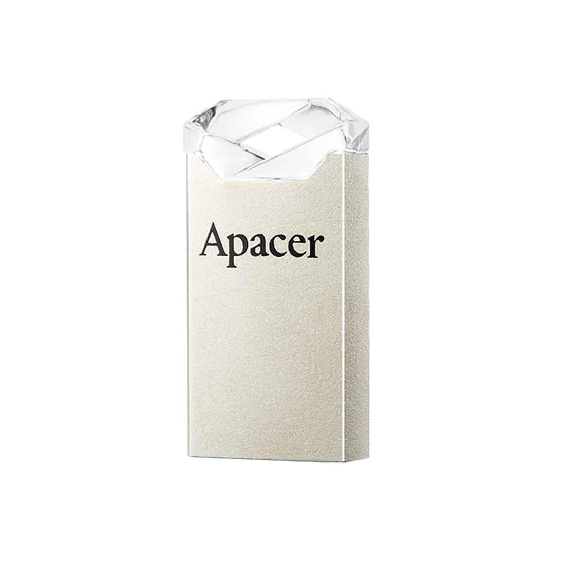 USB-накопитель, Apacer, AH111, AP64GAH111CR-1, 64GB, USB 2.0, Белый
