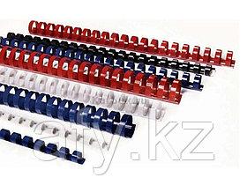 Пластиковые пружины для переплета 18мм(130-160листов)