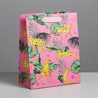 Пакет ламинированный вертикальный «Гепард», MS 18 × 23 × 10 см
