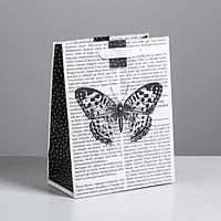 Пакет ламинированный вертикальный «Бабочка», MS 18 × 23 × 10 см