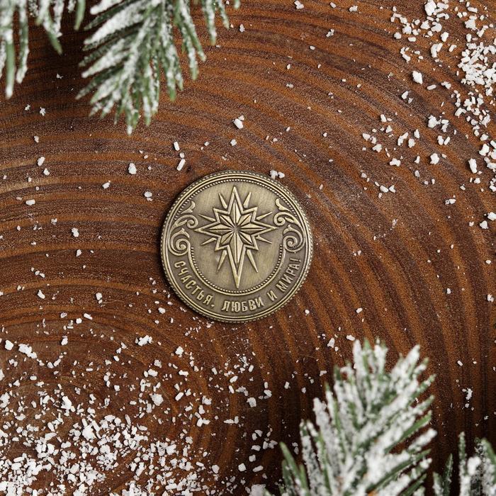 Рождественская монета-талисман «Ангел» - фото 3