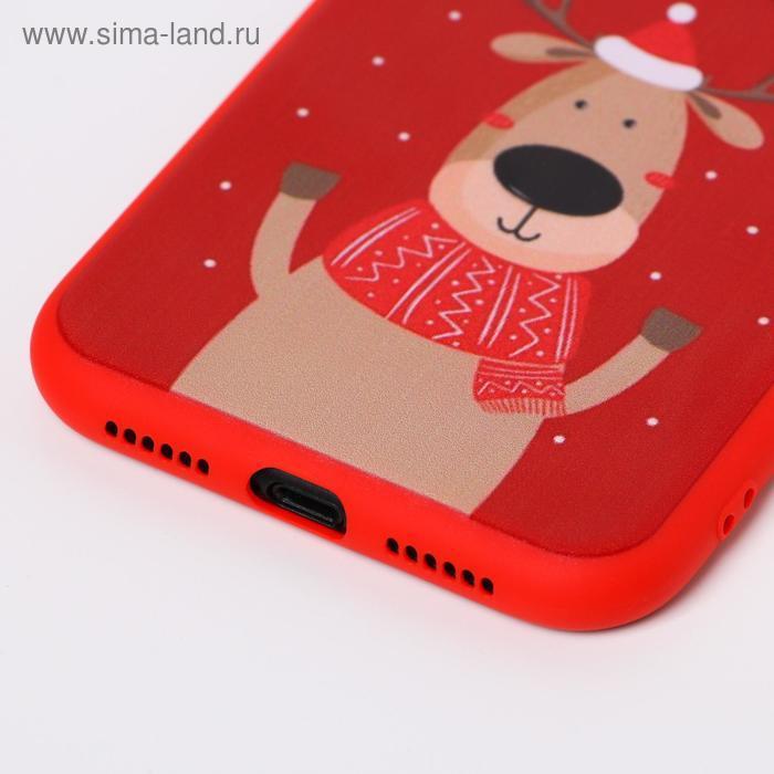 Чехол для телефона iPhone XR «Счастливого рождества», с персонажем, 7,6 х 15,1 см - фото 2