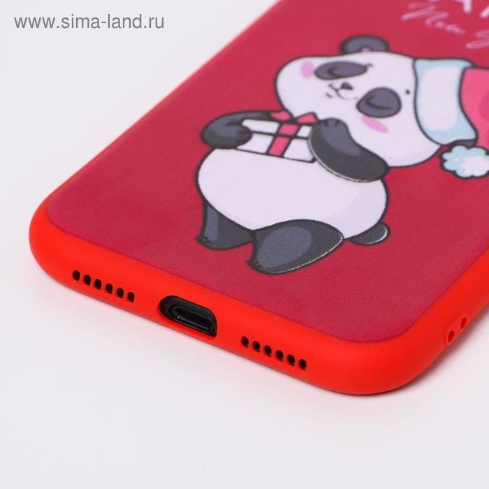 Чехол для телефона iPhone XR «Радостный панда», с персонажем, 7,6 х 15,1 см - фото 2