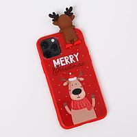 Чехол для телефона iPhone 11 pro «Счастливого рождества», с персонажем, 7,14 х 14,4 см