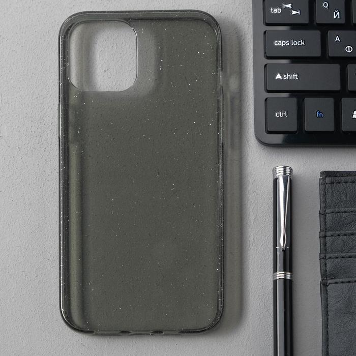 Чехол Activ SC123, для Apple iPhone 12 Pro Max, силиконовый, чёрный - фото 1