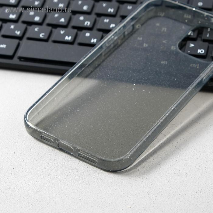 Чехол Activ SC123, для Apple iPhone 12 Pro Max, силиконовый, чёрный - фото 3