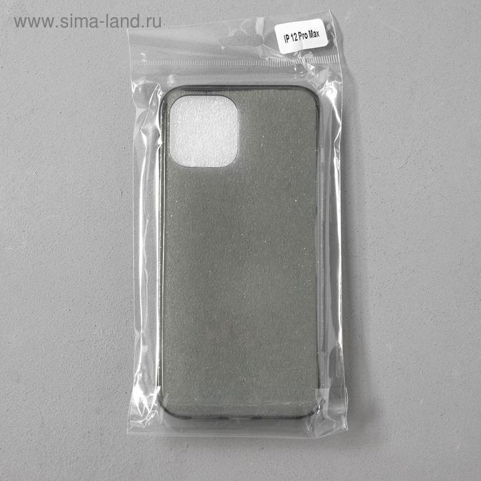 Чехол Activ SC123, для Apple iPhone 12 Pro Max, силиконовый, чёрный - фото 4
