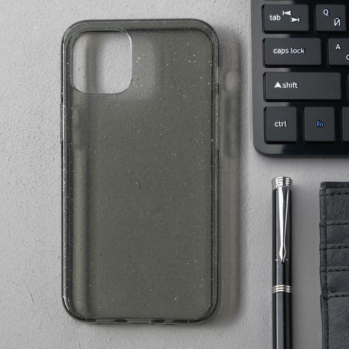 Чехол Activ SC123, для Apple iPhone 12 mini, силиконовый, чёрный - фото 1