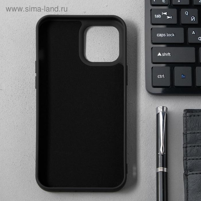 Чехол Activ Full Original Design, для Apple iPhone 12 Pro Max, силиконовый, чёрный - фото 2