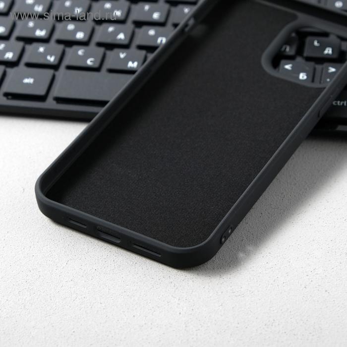 Чехол Activ Full Original Design, для Apple iPhone 12 Pro Max, силиконовый, чёрный - фото 3