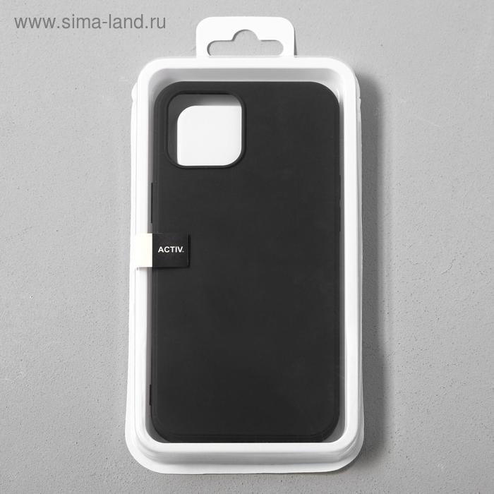 Чехол Activ Full Original Design, для Apple iPhone 12 Pro Max, силиконовый, чёрный - фото 4