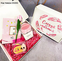 Женский подарочный набор Foreo Luna mini2 зеркало спонжики для макияжа ручка-цветок Бокс подарочный для женщин