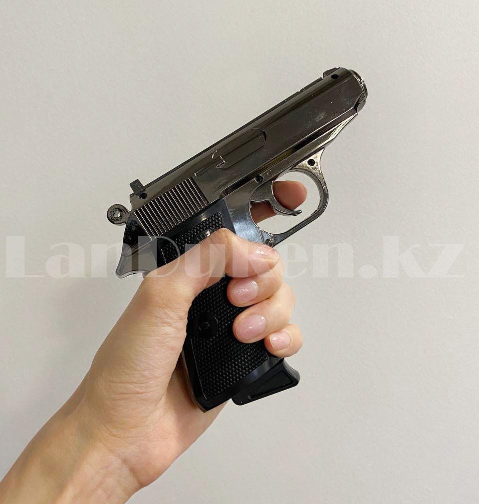 Мужской подарочный набор зажигалка-пистолет туалетная вода 2 пары носков Бокс подарочный для мужчины - фото 7