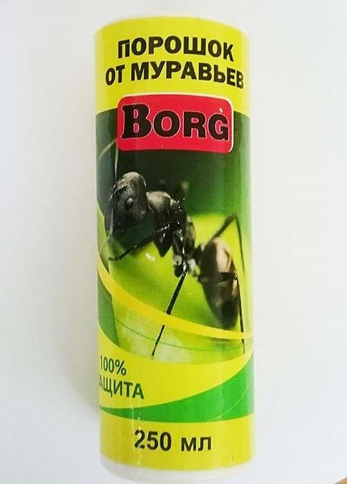 Порошок против муравьёв Borg 250мл