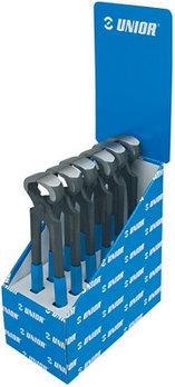Набор клещей плотницких в стенде демонстрационном - 530/4PST UNIOR