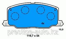 Оригинальные передние, тормозные колодки на Toyota Celica, Corona